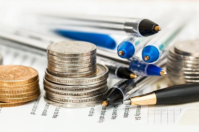 hromadka propisek a mincí