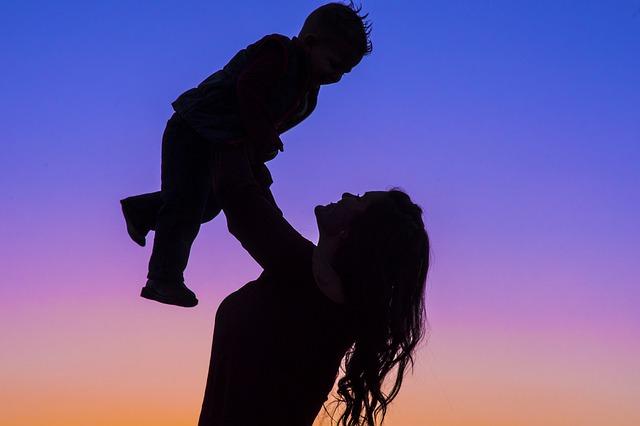 spokojené mateřství