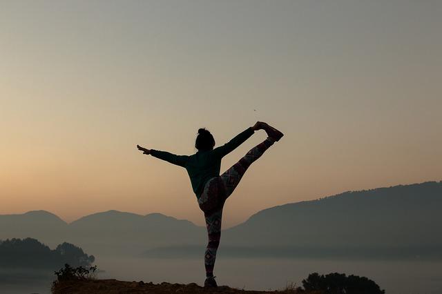 cvičení jóga