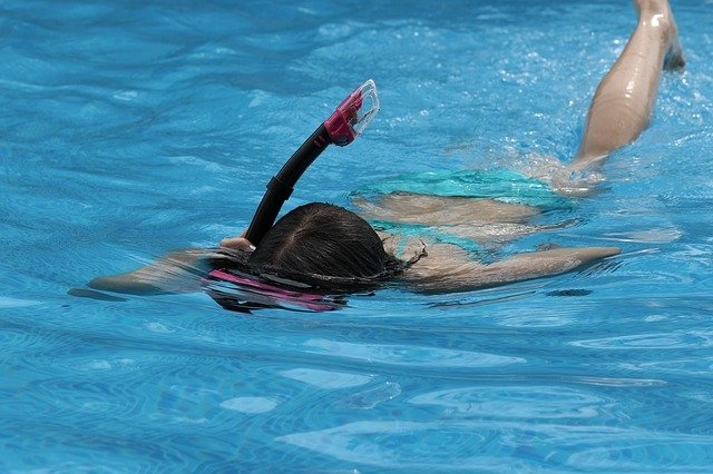 potápění se šnorchlem