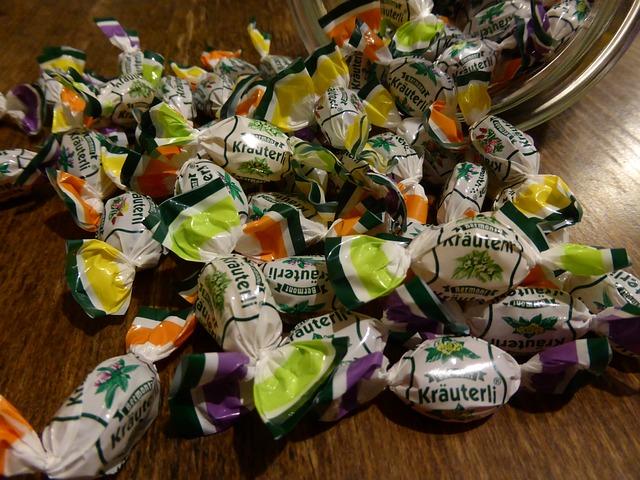 zdravé bonbony